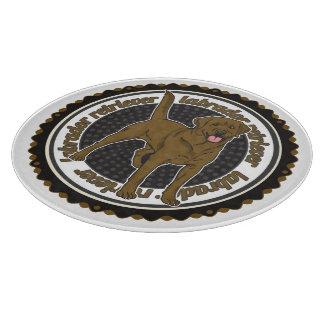 Chocolate Labrador Retriever Cutting Board