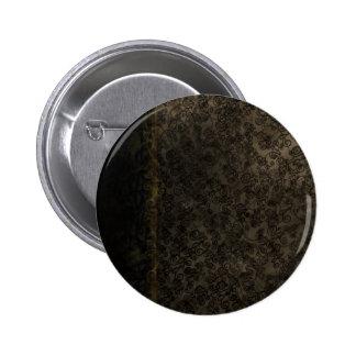 Chocolate Lace 6 Cm Round Badge
