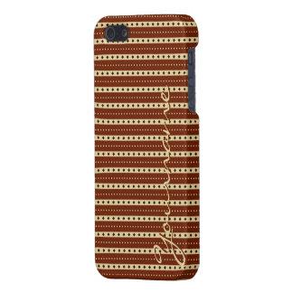 """Chocolate Latte"" Stripes cases"
