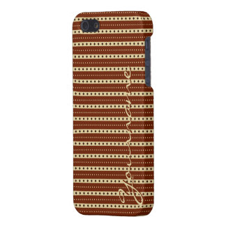 """""""Chocolate Latte"""" Stripes cases Cover For iPhone 5/5S"""