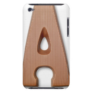 Chocolate letter a barely there iPod cases