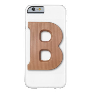 Chocolate letter b barely there iPhone 6 case