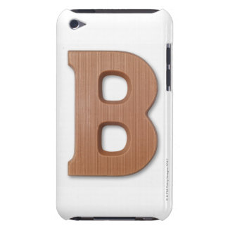 Chocolate letter b Case-Mate iPod touch case