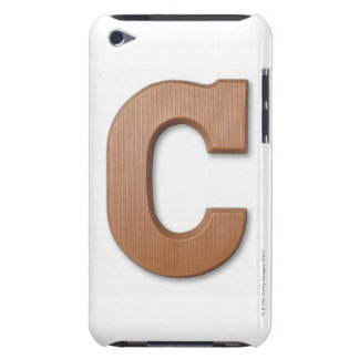 Chocolate letter c iPod Case-Mate cases