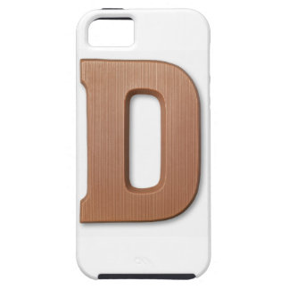 Chocolate letter d iPhone 5 cover