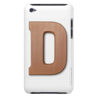 Chocolate letter d iPod touch cover