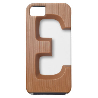 Chocolate letter e iPhone 5 case