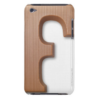 Chocolate letter f barely there iPod covers