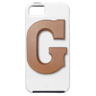 Chocolate letter g iPhone 5 cases