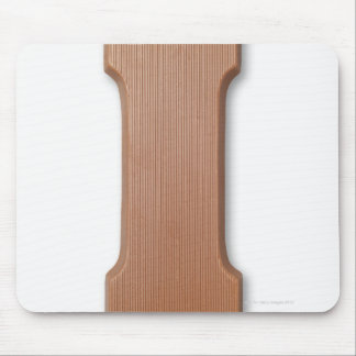 Chocolate letter i mouse mat