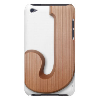Chocolate letter j Case-Mate iPod touch case