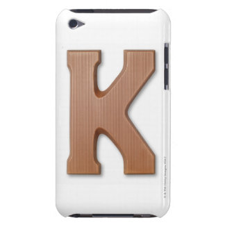 Chocolate letter k barely there iPod cases