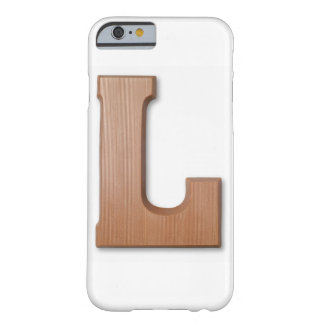 Chocolate letter l barely there iPhone 6 case