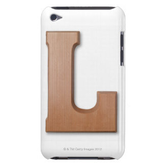 Chocolate letter l barely there iPod case