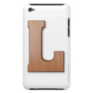 Chocolate letter l iPod touch cover