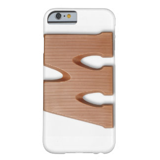 Chocolate letter m barely there iPhone 6 case