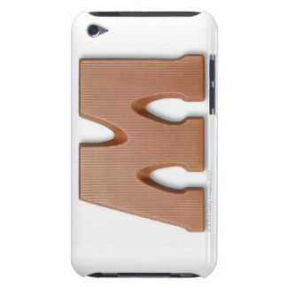 Chocolate letter m barely there iPod case