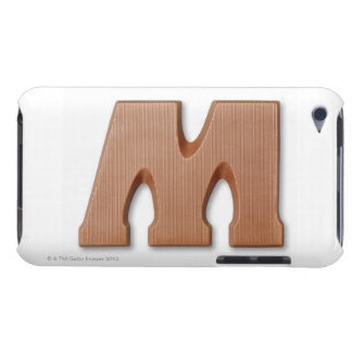 Chocolate letter m barely there iPod covers