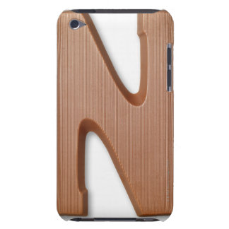 Chocolate letter n barely there iPod cover