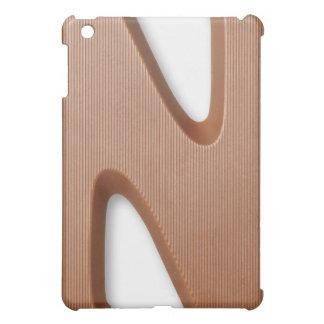 Chocolate letter n iPad mini cases
