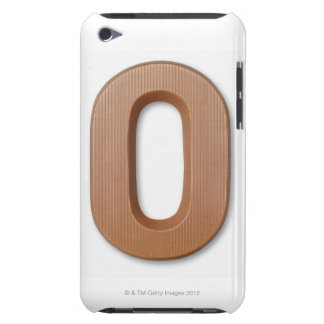 Chocolate letter o barely there iPod cover