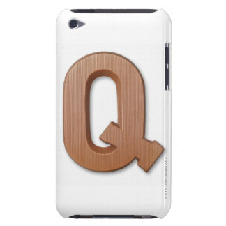Chocolate letter q barely there iPod covers
