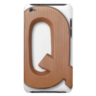 Chocolate letter q iPod touch cover