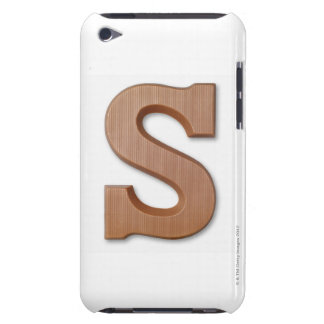 Chocolate letter s Case-Mate iPod touch case