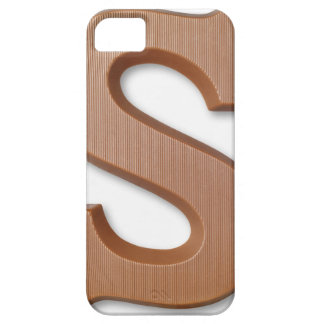 Chocolate letter s iPhone 5 cover