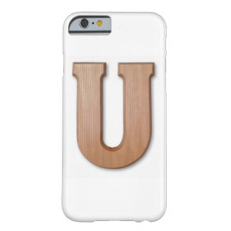 Chocolate letter u barely there iPhone 6 case