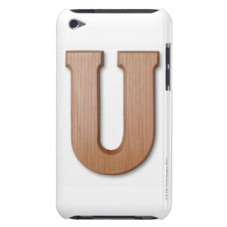 Chocolate letter u barely there iPod case