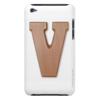 Chocolate letter v barely there iPod cases
