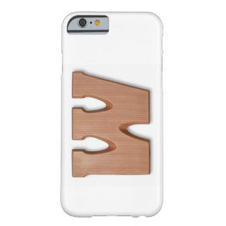 Chocolate letter w barely there iPhone 6 case
