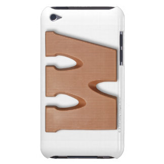 Chocolate letter w barely there iPod case