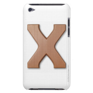 Chocolate letter x iPod touch covers