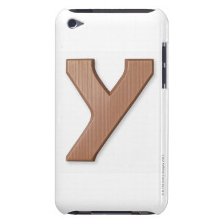 Chocolate letter y iPod Case-Mate cases