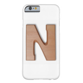 Chocolate letter z barely there iPhone 6 case