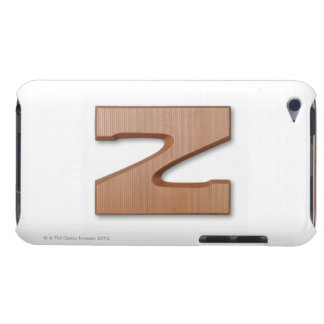 Chocolate letter z barely there iPod cases