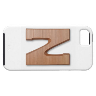 Chocolate letter z iPhone 5 cover