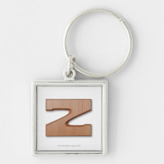 Chocolate letter z key ring