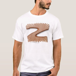 Chocolate letter z T-Shirt