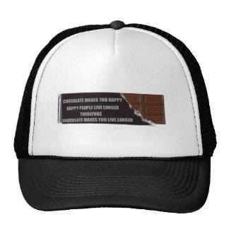 Chocolate logic mesh hats