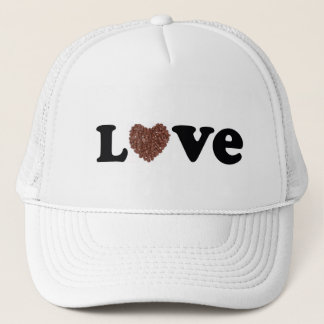 Chocolate love trucker hat