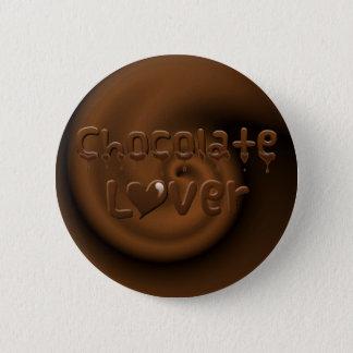 Chocolate Lover 6 Cm Round Badge