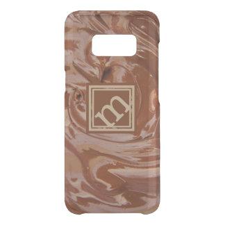 Chocolate Lover Angled Monogram Uncommon Samsung Galaxy S8 Case