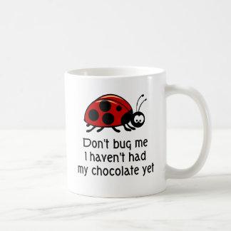 Chocolate Lover Ladybug Coffee Mug