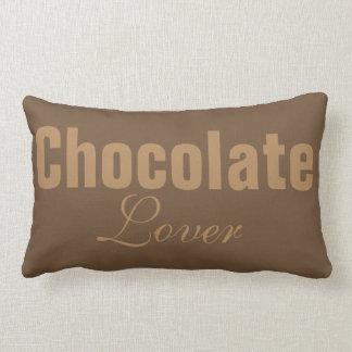 Chocolate lover lumbar cushion