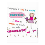 Chocolate Lover Post Cards