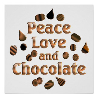 Chocolate Lover Print
