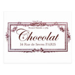 Chocolate lovers .... love this vintage French art Post Cards